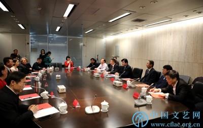 """中国文联领导会见学雷锋志愿服务""""四个100""""先进典型代表"""