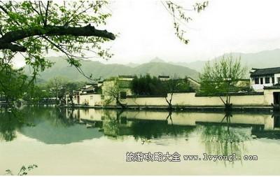 中国画里的乡村