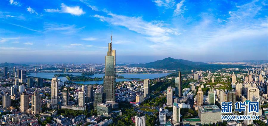 (天空之眼)(1)天空之眼瞰南京