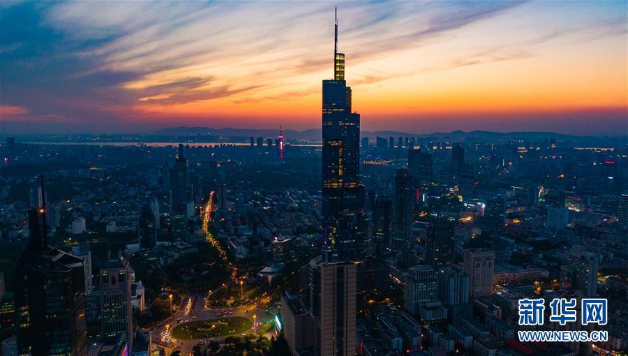 (天空之眼)(2)天空之眼瞰南京