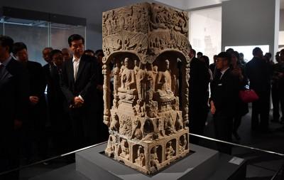 """""""河北衡水文化展""""国家博物馆开幕"""