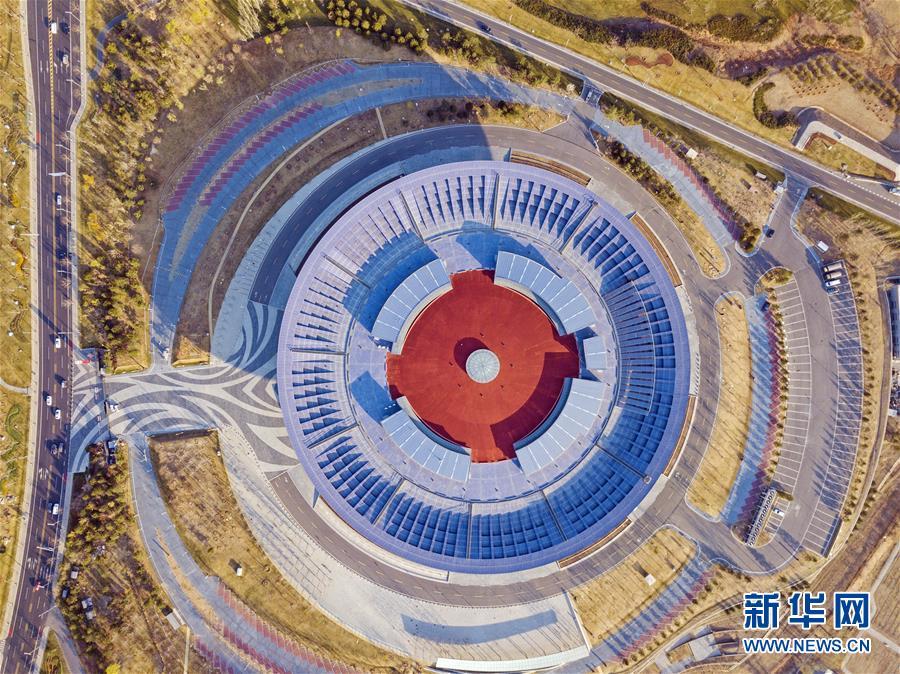 """(""""一带一路""""高峰论坛)(7)这一刻 瞰北京"""