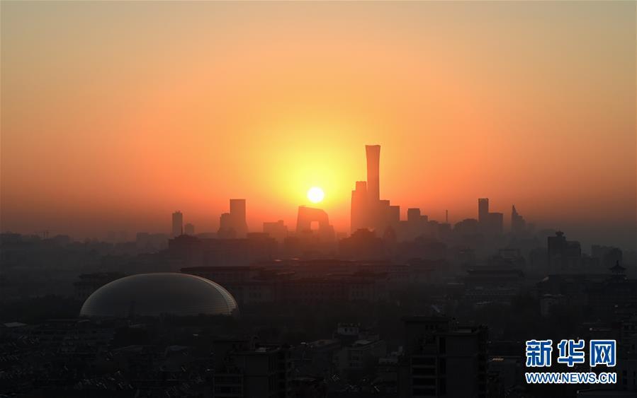 """(""""一带一路""""高峰论坛)(6)这一刻 瞰北京"""