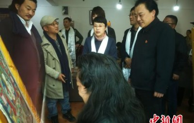 """文化和旅游部赴藏调研""""非遗+扶贫"""""""