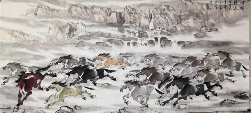 「我和我的祖国」纪念建国七十周年--新时代(经典)艺术家之五十九--刘云昌