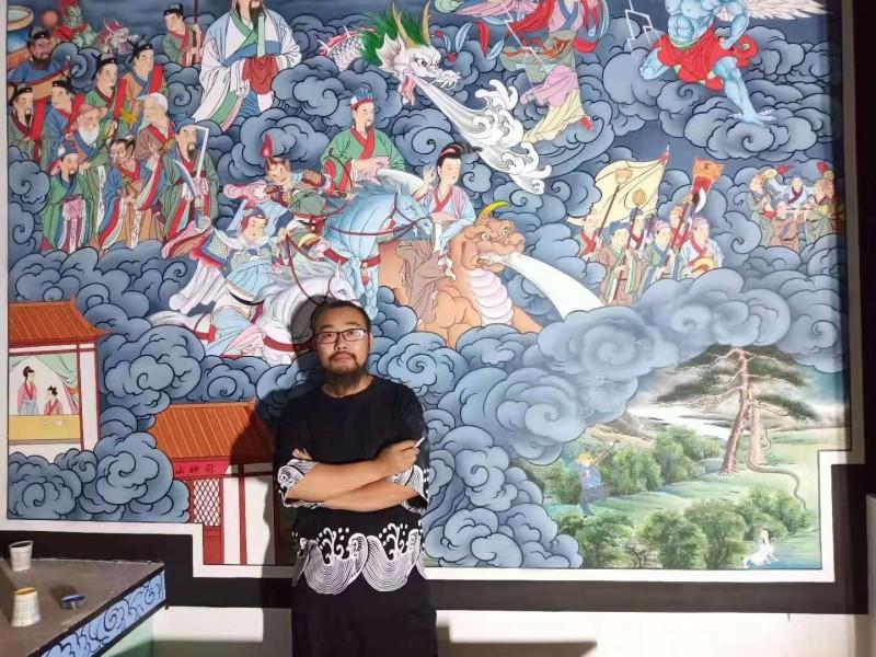 刘宝林——中宣盛世国际书画院院聘画家、著名书画家