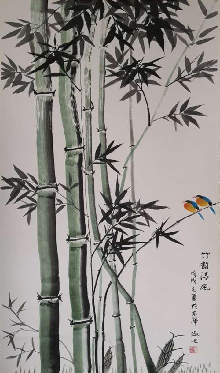 「我和我的祖国」纪念建国七十周年--新时代(经典)艺术家之七十五--董淑七