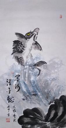 蔡兆彬——中宣盛世国际书画院会员、著名书画家