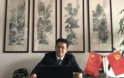 汤明祥——中宣盛世国际书画院会员、著名书画家