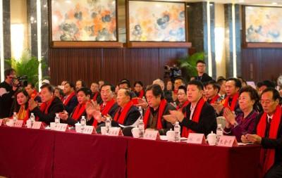 中国楹联学会中宣盛世文化艺术交流中心揭牌成立