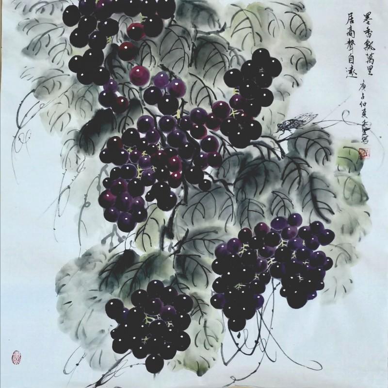 彭志坚 ——中宣盛世国际书画院会员、著名书画家