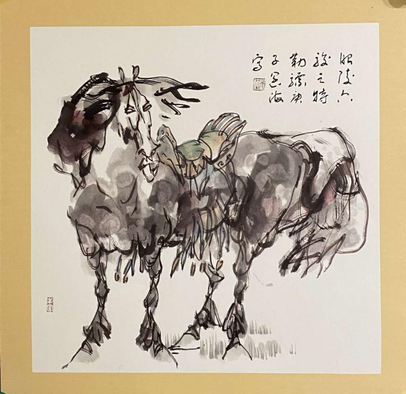 中国新汉画水墨创始人——王阔海艺术简介