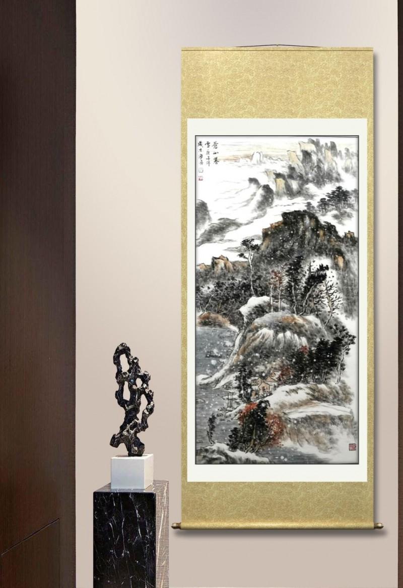 展艺术名人风采,弘万家文化精髓——吴海舟(九十九)